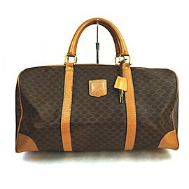 Celine Monogram Macadam Boston Duffle 857983