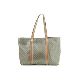 Céline Macadam Monogram 16ck0103 Brown Coated Canvas Tote