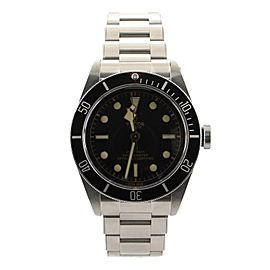Tudor Heritage Black Bay Automatic Watch Stainless Steel 41