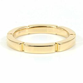 Cartier 18K Rose Pink Gold Maillon Panthere Ring CHAT-129