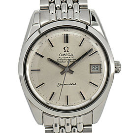 OMEGA Seamaster Date Stainless Steel Cal.1011 Automatic Men's Watch