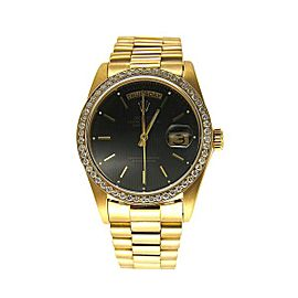 Rolex Oyster Perpetual 18038 Vintage 36mm Mens Watch