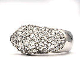 Cartier Panthère de 18K White Gold Diamond Ring