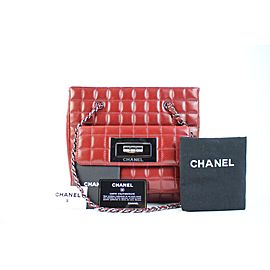 Chanel 2.55 Reissue Quilted Chocolate Bar Chain Tote 113cca31717 Burgundy Lambskin Leather Shoulder Bag
