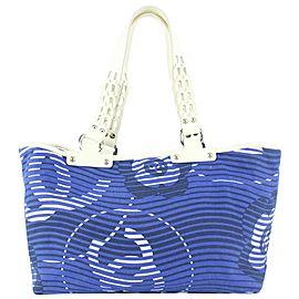 Chanel Blue Kaleidoscope Beach Tote Bag 93cas97