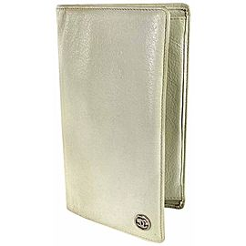 Chanel Beige CC Logo Long Bifold Flap Wallet 857664