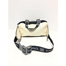 Chanel Sports Line CC Logo Bum Bag Waist Pouch Fanny Pack 240170