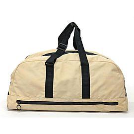 Chanel XL Beige Sports Logo CC Duffle Bag 241494
