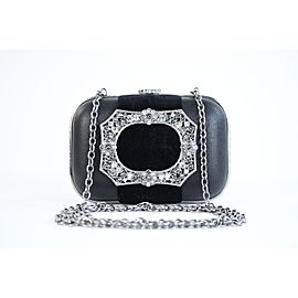 Chanel Metiers D'art Crystal Minaudiere 5ccty71417 Black Clutch