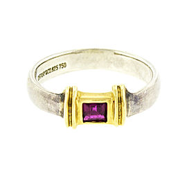Tiffany & Co. Two-tone Ruby Ring