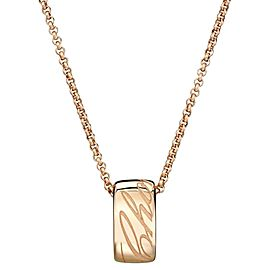 Chopard Chopardissimo 18K Rose Gold Necklace 796582