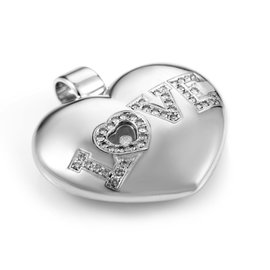 Chopard Love 18K White Gold Diamond Enhancer Pendant