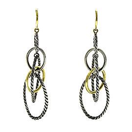 David Yurman 18k Gold Mobile Large Link Earrings