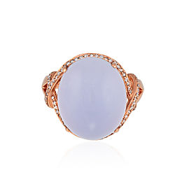 Le Vian Certified Pre-Owned Ring featuring Chalcedony Vanilla Diamonds set in 14K Strawberry Gold