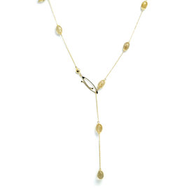 Dancing in the Rain Gold 18kt Necklace