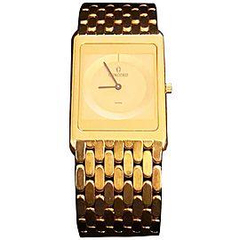 Vintage Concord Delirium 50.20.617 18K Yellow Gold Mens Watch