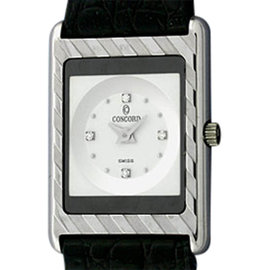 Concord Delirium 60.C1.670 18K White Gold 23mm Strap Watch