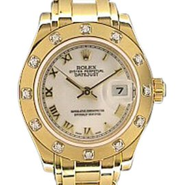 "Rolex ""Masterpiece"" 18K Yellow Gold Watch"