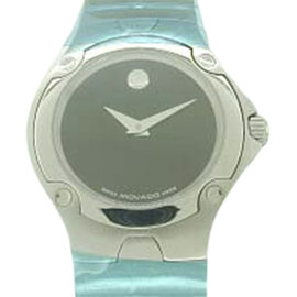 "Movado ""Museum"" 84.G4.1851 Stainless Steel 27mm Womens Watch"