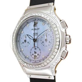 "Hublot ""Chrono Lady"" Stainless Steel Watch"