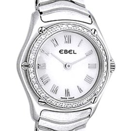 Ebel Classic Wave Stainless Steel Quartz 24mm Womens Watch