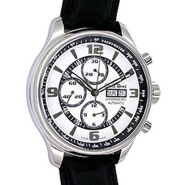 "Ernst Benz ""Chronojewel Chronograph"" Stainless Steel Mens Watch"