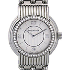 "Boucheron ""Classique"" Stainless Steel Womens Dress Watch"