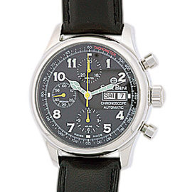 "Ernst Benz ""ChronoScope"" Stainless Steel Strap Watch"