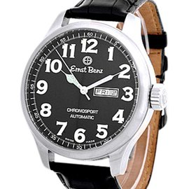 "Ernst Benz ""Chronosport"" Gent's Stainless Steel Mens Watch"