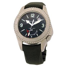 """Girard Perregaux """"Sea Hawk II"""" Titanium Mens Watch"""