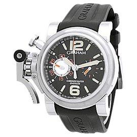 "Graham ""Chronofighter Oversize Ranger"" Stainless Steel Strap Watch"