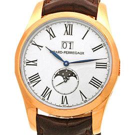 """Girard Perregaux """"Classic Elegance"""" 18K Rose Gold Strapwatch"""