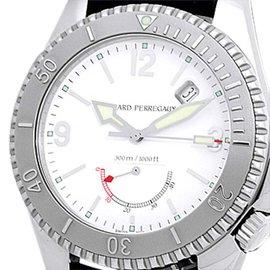 "Girard Perregaux ""Sea Hawk II"" Stainless Steel Sport Mens Watch"