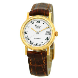 Chopard Classique 34/7300 18K Yellow Gold Automatic 27mm Womens Watch