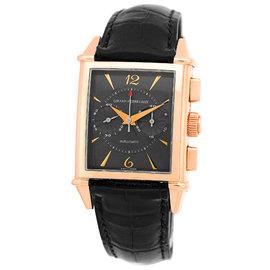 "Girard Perregaux ""Vintage 1945 Chronograph"" 18K Rose Gold Mens Watch"