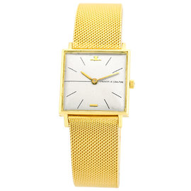 Jaeger-LeCoultre Classique 18K Yellow Gold Vintage 25mm Mens Watch