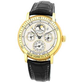 """Audemars Piguet """"Equation of Time"""" 18K Yellow Gold Perpetual Calendar Mens Watch"""