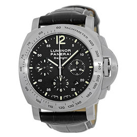 Panerai PAM 00236 Stainless Steel / Leather 44mm Automatic 44mm Mens Watch