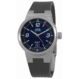 "Oris ""Williams F1 Team Day-Date"" Stainless Steel Mens Watch"