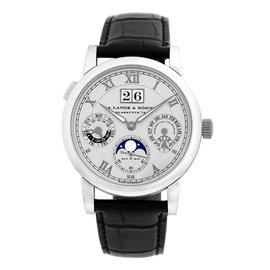 """A. Lange & Sohne """"Langematik Perpetual Calendar"""" Strap Watch"""