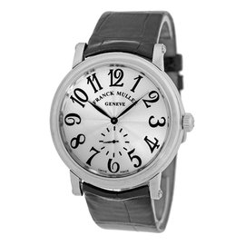 "Franck Muller ""Liberty"" Stainless Steel Mens Strap Watch"