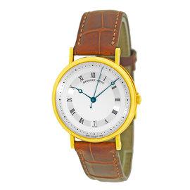 """Breguet 5930 """"Classique"""" 18K Yellow Gold Mens Strap Watch"""