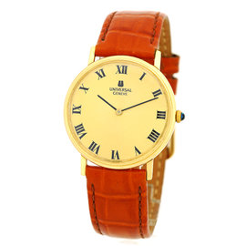 "Universal Geneve ""Classique"" 18K Yellow Gold Strapwatch"