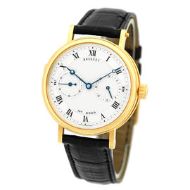 "Breguet ""Minute Repeater"" 18K Yellow Gold Mens Strap Watch"