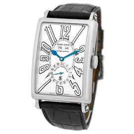 "Roger Dubuis ""Much More Triple Calendar"" 18K White Gold Strapwatch"
