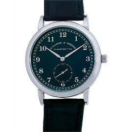 "A. Lange & Sohne ""1815"" 18K White Gold Strap Watch"