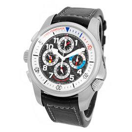 """Girard Perregaux """"R & D BMW Perpetual Calendar"""" 18K White Gold Strap Watch"""