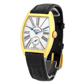 Franck Muller Cintree Curvex Casablanca 18K Yellow Gold Medium Size Unisex Watch
