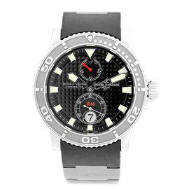 "Ulysse Nardin ""Maxi Marine Diver"" Stainless Steel Strap Watch"