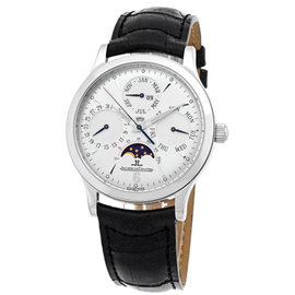 """Jaeger-LeCoultre """"Master Perpetual Calendar"""" Stainless Steel Mens Watch"""